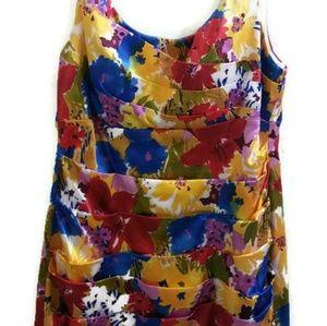 Bisou Bisou Michelle Bohbot Floral Cocktail Dress